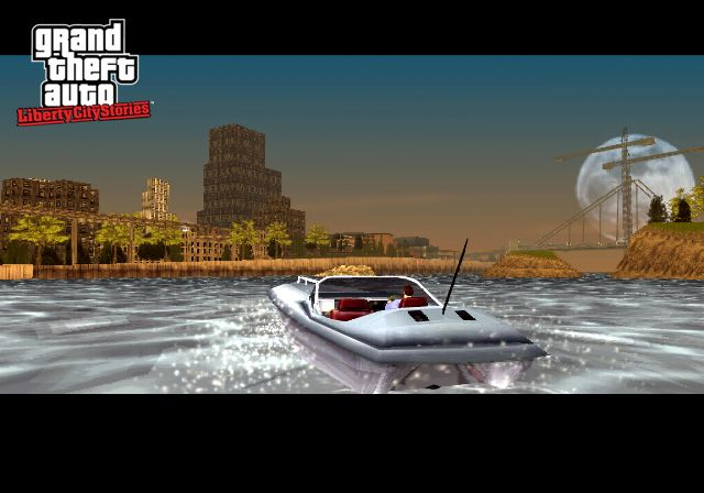 скриншот из игры Grand Theft Auto: Liberty City Stories (PS2)