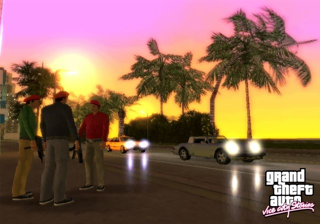 скриншот из игры Grand Theft Auto: Vice City Stories (PS2)